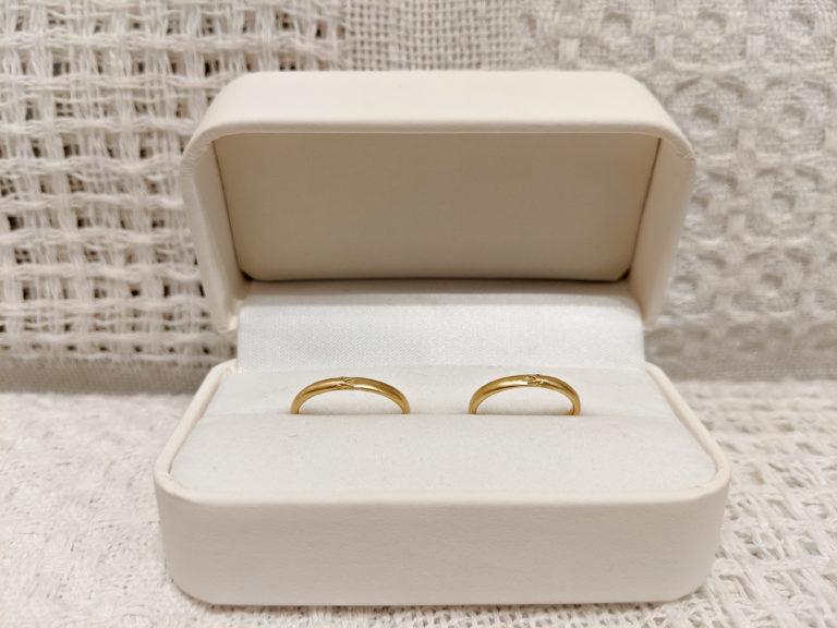 2人の好きな「どじょう」をコンセプトに作った結婚指輪!